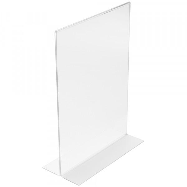 Tischaufsteller T-Form DIN A3