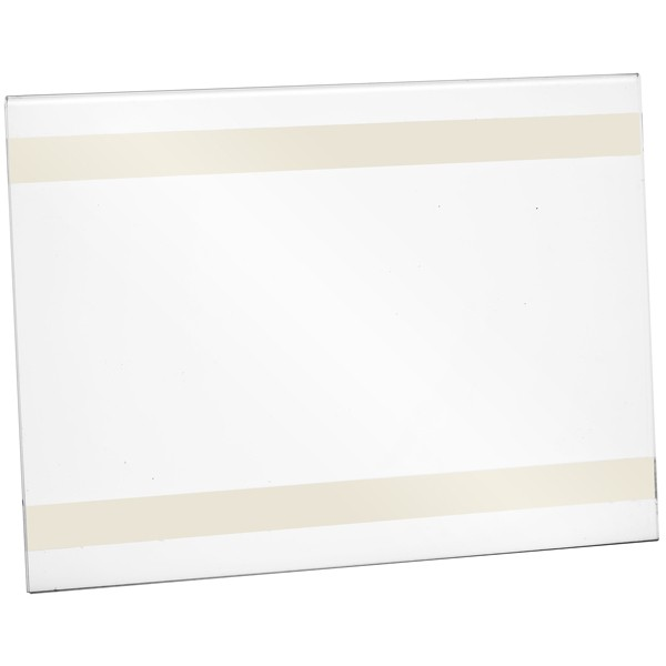 Wanddisplay Einzelblatt DIN A6 mit Klebestreifen Querformat
