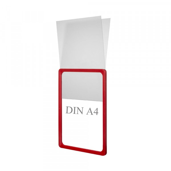 Plakattasche PVC U-Form DIN A4