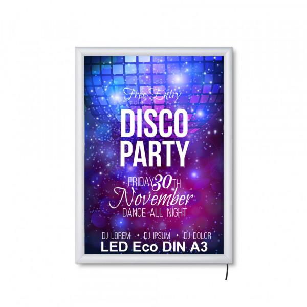 LED DIN A3 Leuchtrahmen ECO 19mm