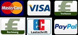Unsere Zahlungsanbieter