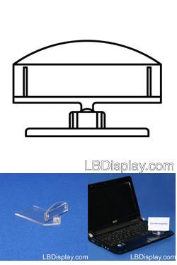 VersaGrip Schildhalter groß 50mm mit Bodenplatte 40x75mm