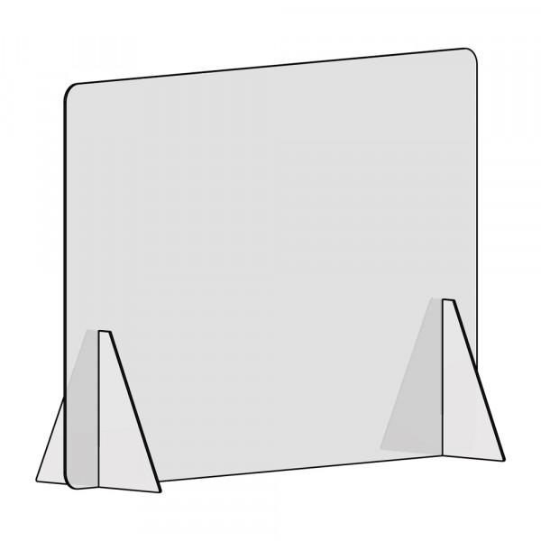 Spuckschutz 100x70cm (B/H) ohne Durchreiche