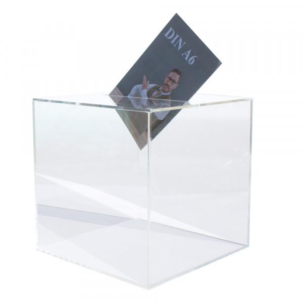 Losbox 25cm Kantenlänge ECO - Acryl