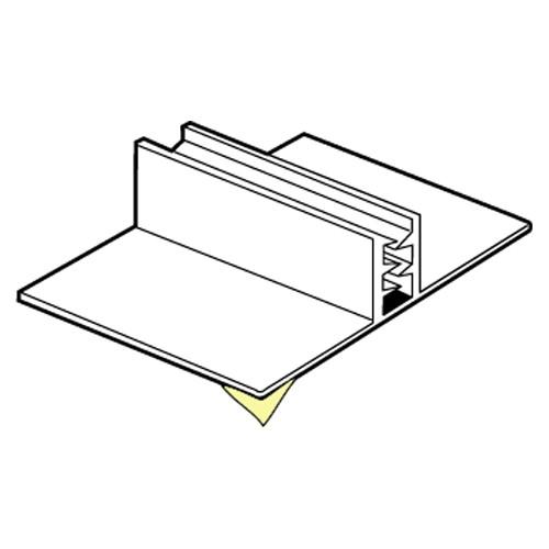 SuperGrip Displayhalter bis 2mm, breit selbstklebend 25mm
