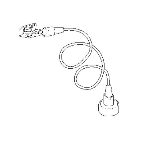 Schildhalter Klammer mit Magnet und Biegedraht 30cm - VersaGrip