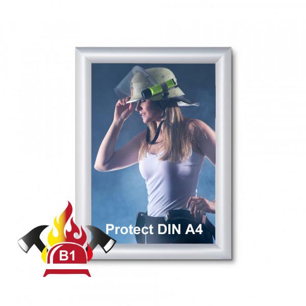Klapprahmen FireProtection 25mm DIN A4 Brandschutznorm B1