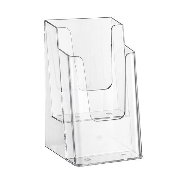 Prospektständer Nedco® 2 Etagen - 2 Fächer DIN A6