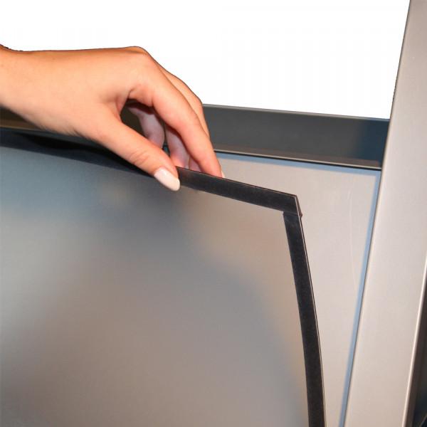 Schutzfolie DIN A1 für Kundenstopper KS-01RO Premium