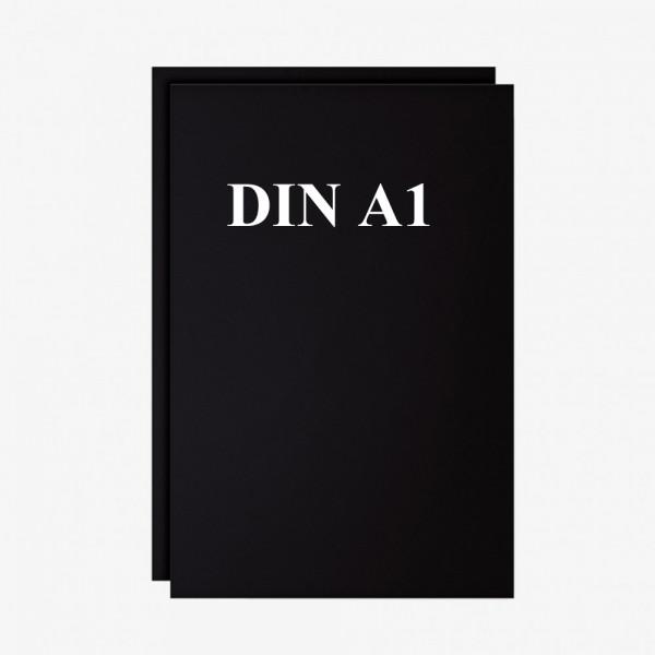 Schreibfolie Set 2 Stck. schwarz DIN A1
