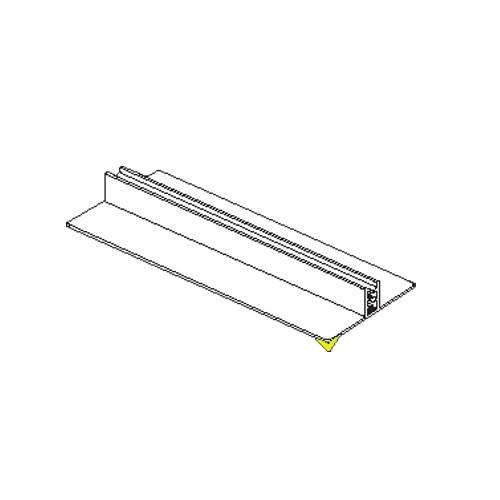 SuperGrip Displayhalter bis 2mm, breit selbstklebend 76mm